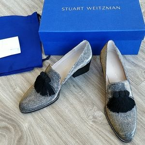 Stuart Weitzman Razmataz tassel detail loafers